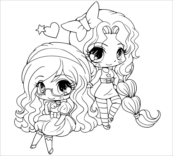 chibi anime coloring pages pin by an xie on annie pinterest chibi coloring anime chibi pages