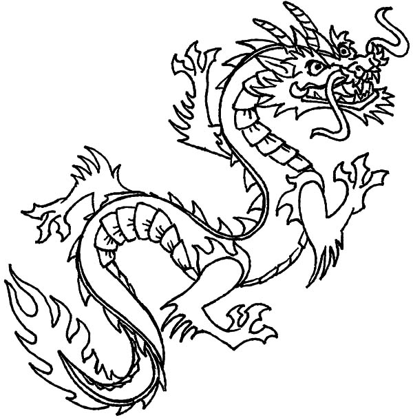 chinese dragon color sheets chinese dragon coloring pages getcoloringpagescom color sheets dragon chinese