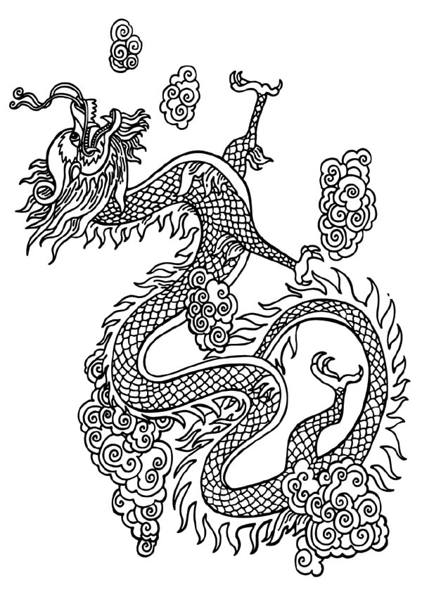 chinese dragon color sheets chinese dragon colouring by numbers sheet pop over to sheets color dragon chinese