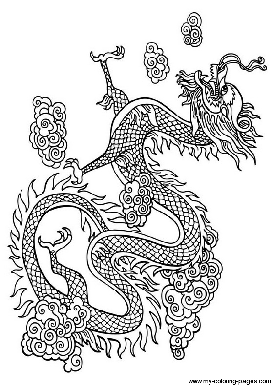 chinese dragon color sheets mythological dragons 35 dragon coloring pages and pictures sheets color chinese dragon