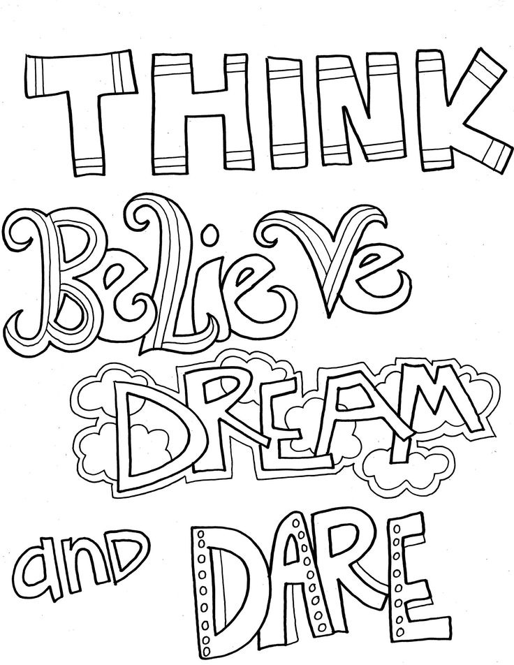 coloring page quotes all quotes coloring pages printable quotesgram page coloring quotes 1 1