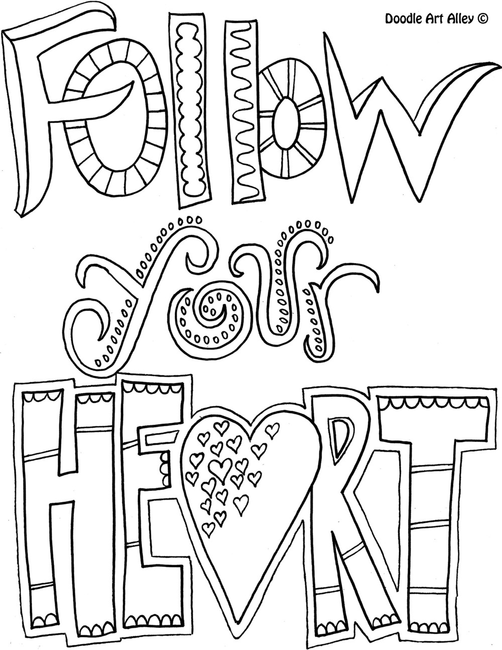 Coloring page quotes