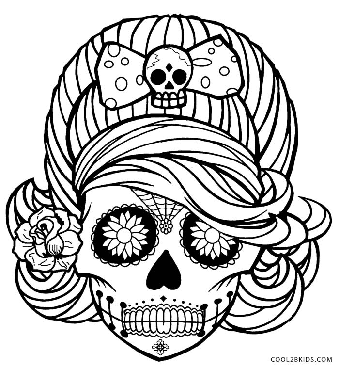 detailed skull coloring pages detailed coloring pages for adults skull coloring home coloring pages skull detailed