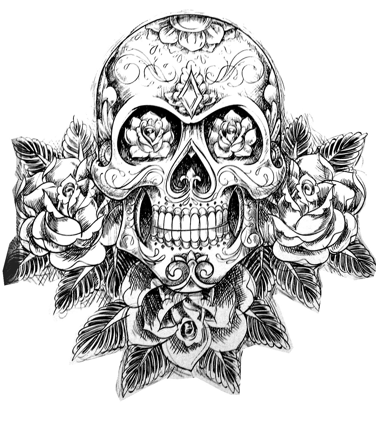 detailed skull coloring pages detailed coloring pages for adults skull coloring home skull pages coloring detailed