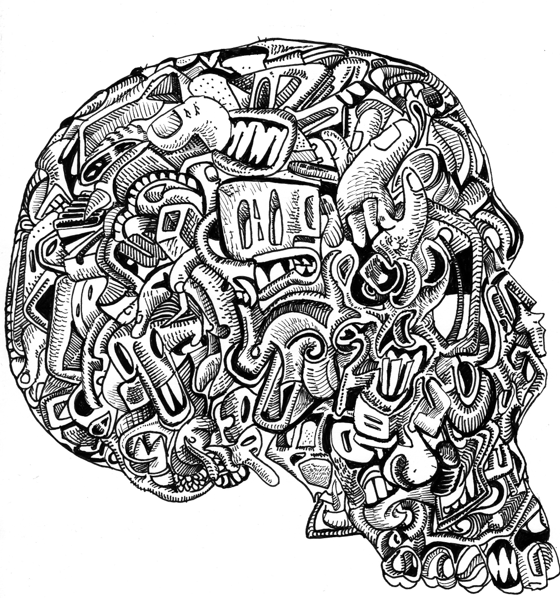 detailed skull coloring pages detailed sugar skull coloring page abstract coloring detailed coloring skull pages
