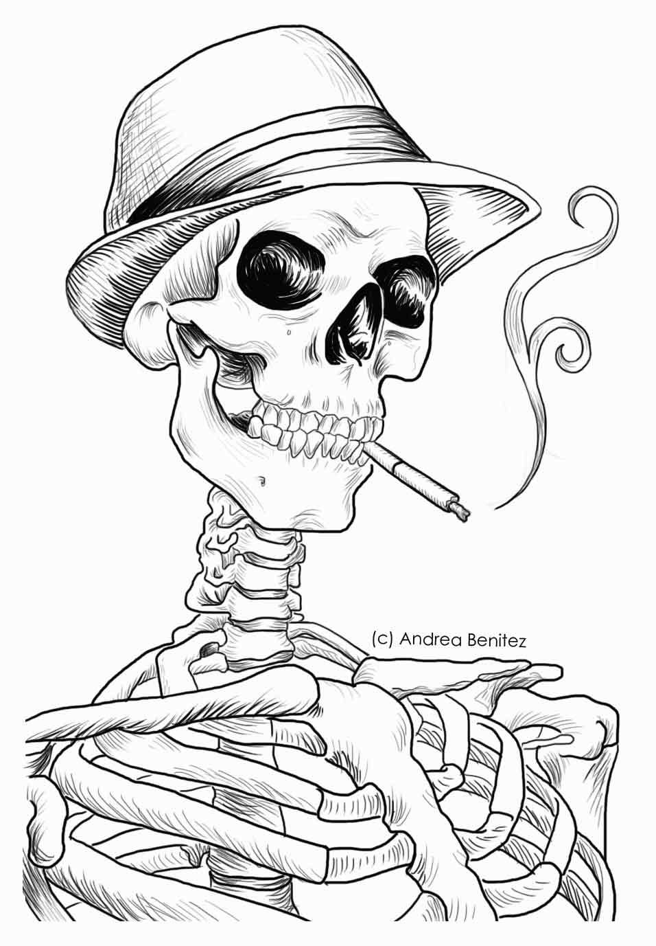 detailed skull coloring pages detailed version of the line drawing in 2019 skull detailed pages skull coloring
