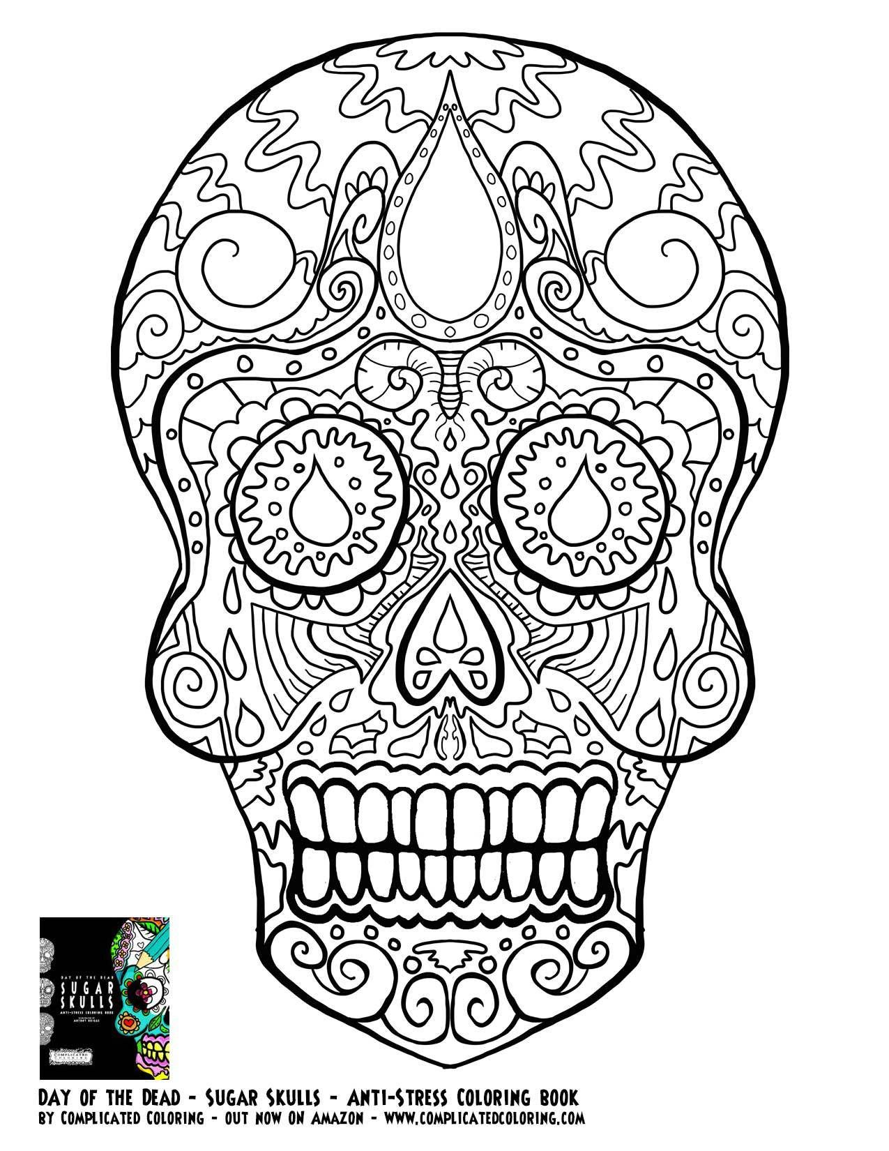 detailed skull coloring pages free adult coloring pages detailed printable coloring coloring skull detailed pages