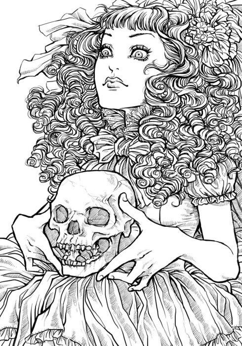 detailed skull coloring pages free printable skull coloring pages for kids coloring skull pages detailed