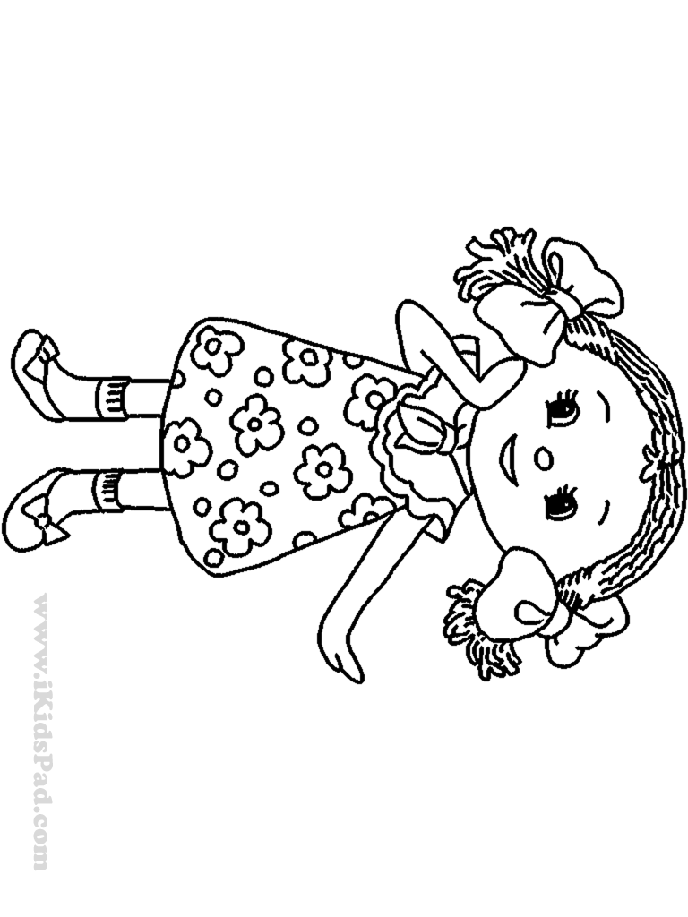 doll colouring pages american girl coloring page pages doll colouring