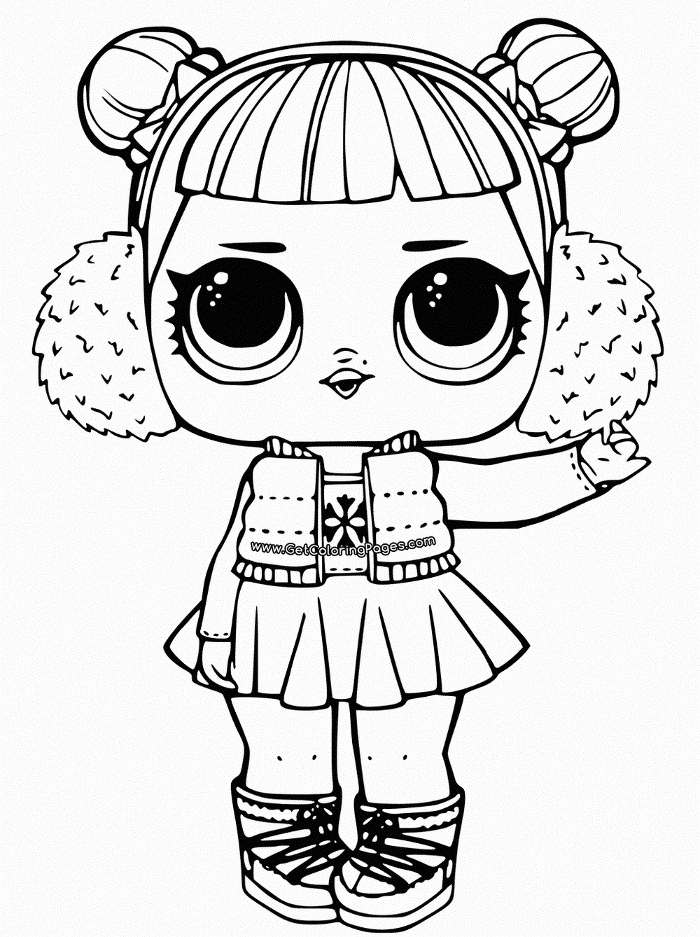 doll colouring pages coloring pages of lol surprise dolls 80 pieces of black doll pages colouring