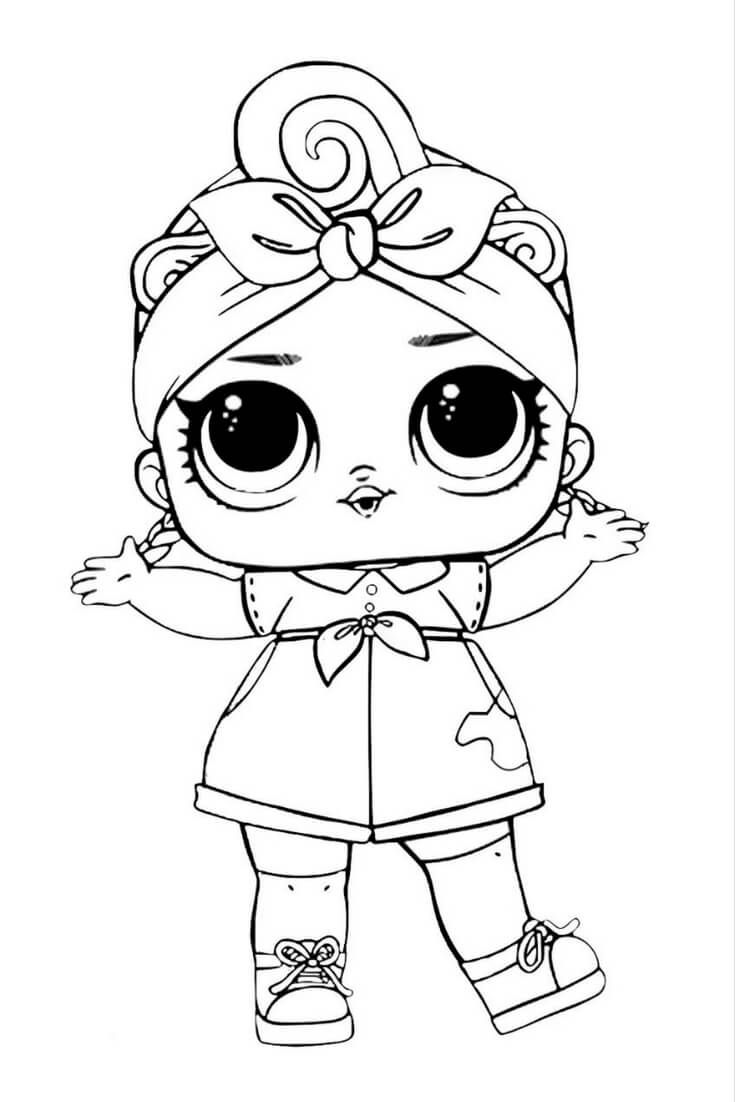 doll colouring pages lol suprise doll coloring page baby coloring pages lol colouring pages doll