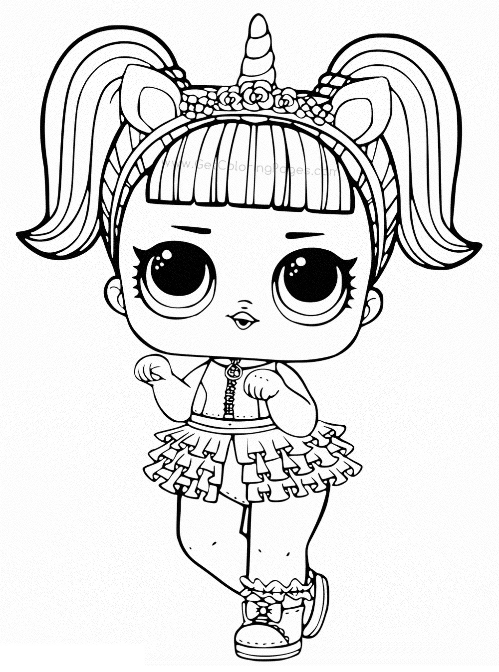 doll colouring pages lol surprise dolls coloring pages print them for free colouring pages doll
