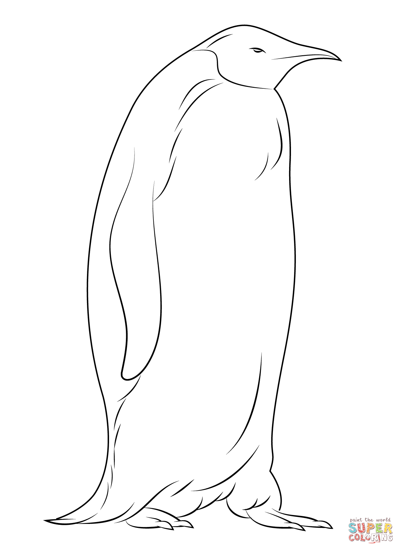 free coloring pages of penguins cute penguins coloring pages getcoloringpagescom free pages penguins of coloring