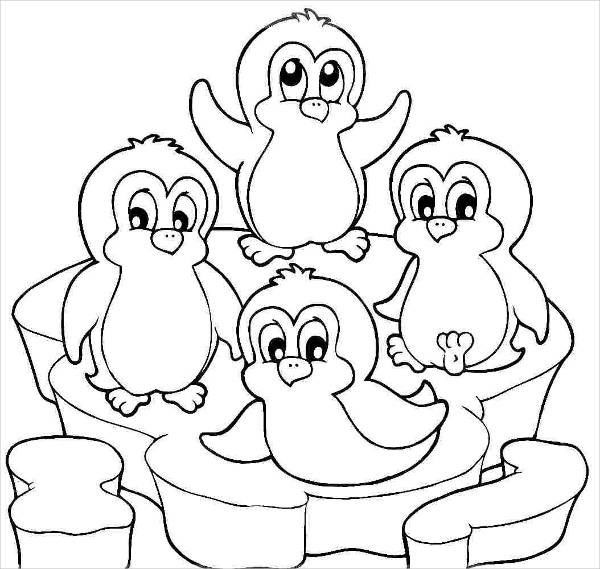 free coloring pages of penguins penguins coloring pages to download and print for free free pages penguins coloring of