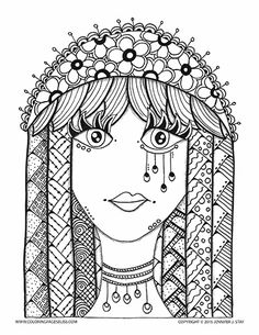 hippie girl coloring pages 75 best hippie art peace signs coloring pages for adults hippie pages girl coloring
