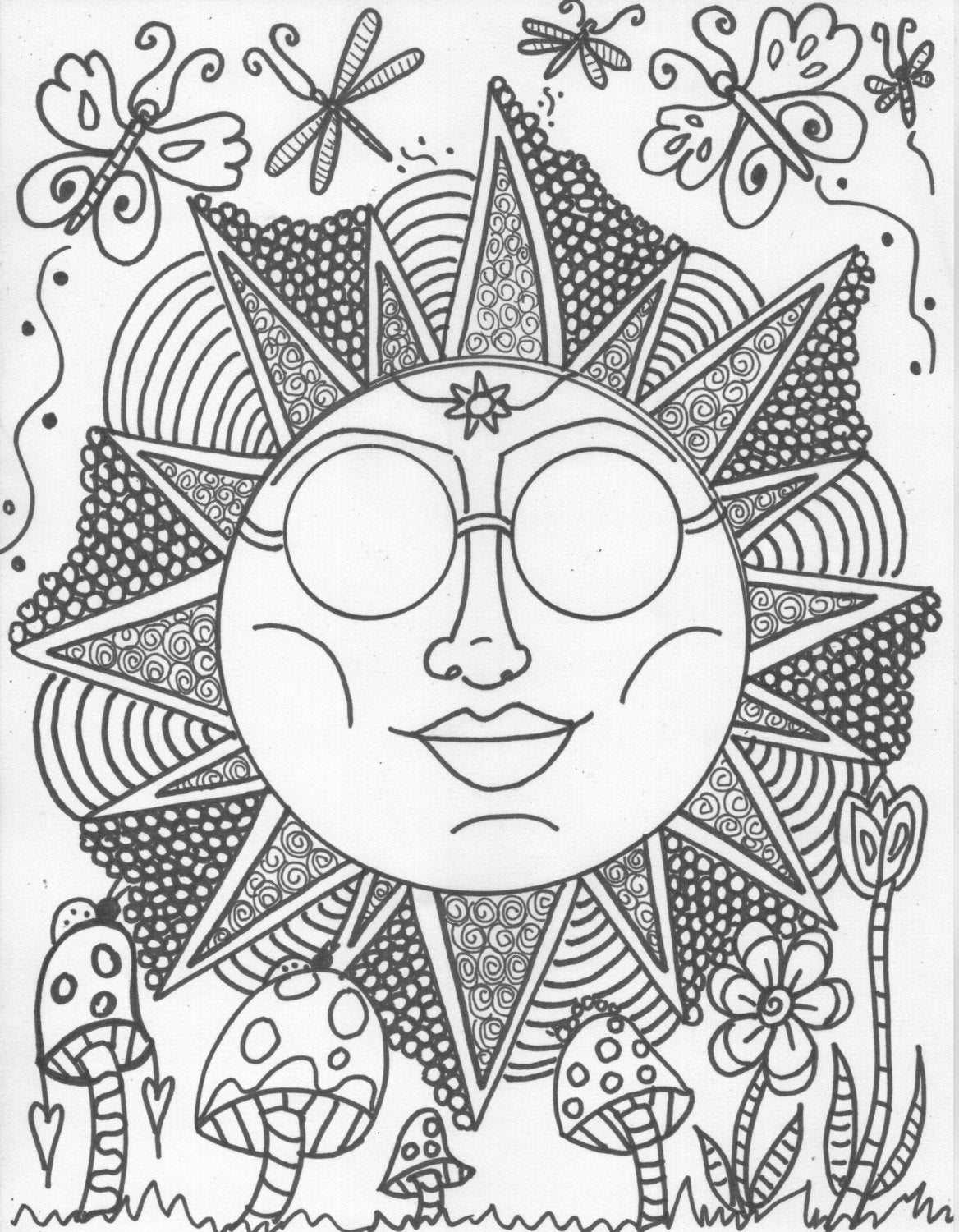 hippie girl coloring pages hippie custom coloring book coloring book pages by pages coloring hippie girl