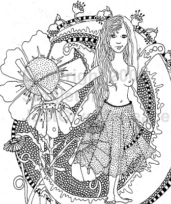 hippie girl coloring pages just give me peace the sound of colors singleton hippie art pages girl hippie coloring