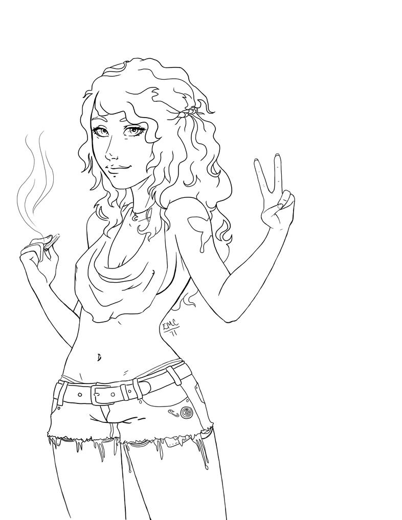 hippie girl coloring pages sketch of hippie hair back coloring pages coloring hippie pages girl