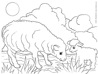 lamb coloring page free printable sheep coloring pages for kids page coloring lamb
