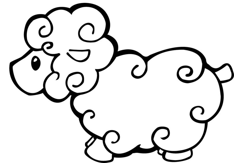 lamb coloring page inkspired musings lambs both vintage and modern with page lamb coloring