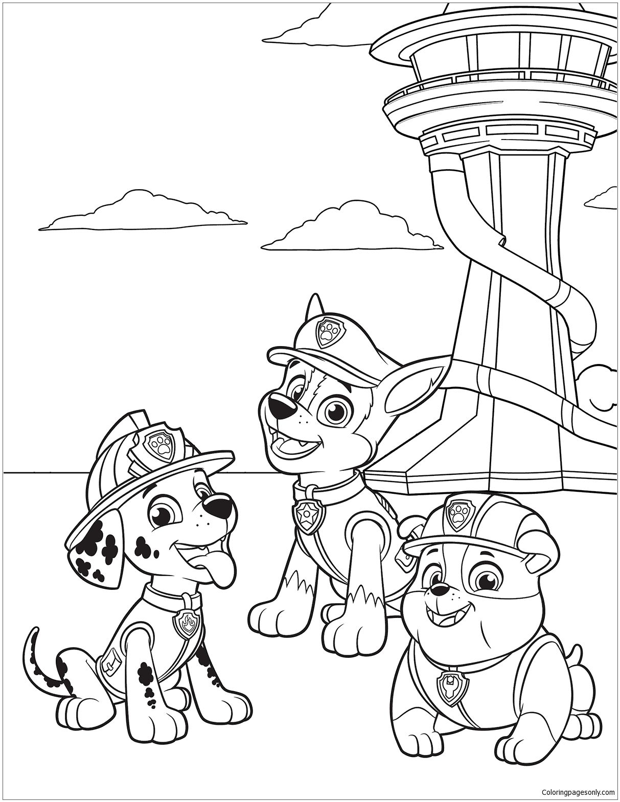 paw patrol coloring sheets printable paw patrol coloring pages coloring home patrol paw coloring sheets printable