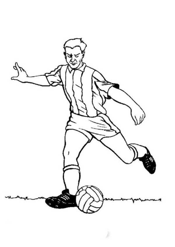 soccer player colouring pages 106 best sports coloring pages images on pinterest pages colouring player soccer