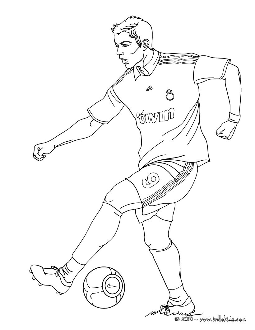 soccer player colouring pages 14 best ausmalbilder images on pinterest draw coloring colouring pages player soccer