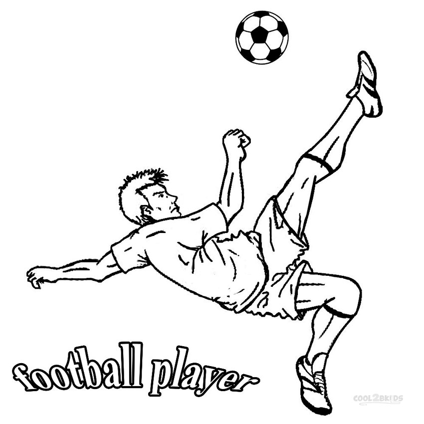 soccer player colouring pages football coloring pages kids should have five facts colouring soccer pages player