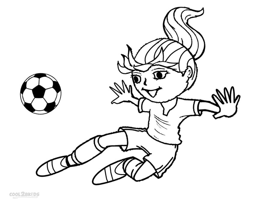 soccer player colouring pages free printable football coloring pages for kids cool2bkids pages colouring player soccer
