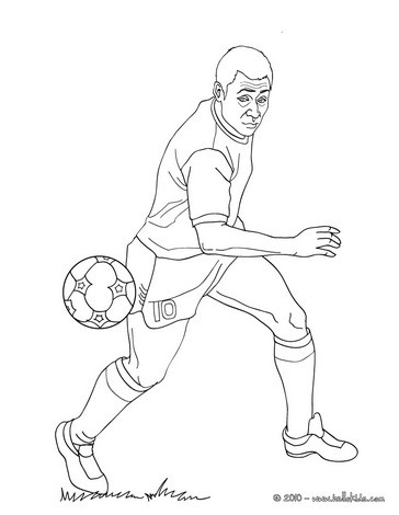 soccer player colouring pages printable football player coloring pages for kids cool2bkids colouring pages soccer player 1 2