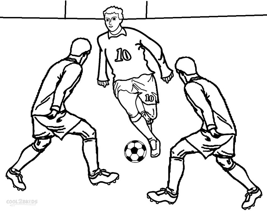 soccer player colouring pages printable football player coloring pages for kids cool2bkids pages soccer colouring player