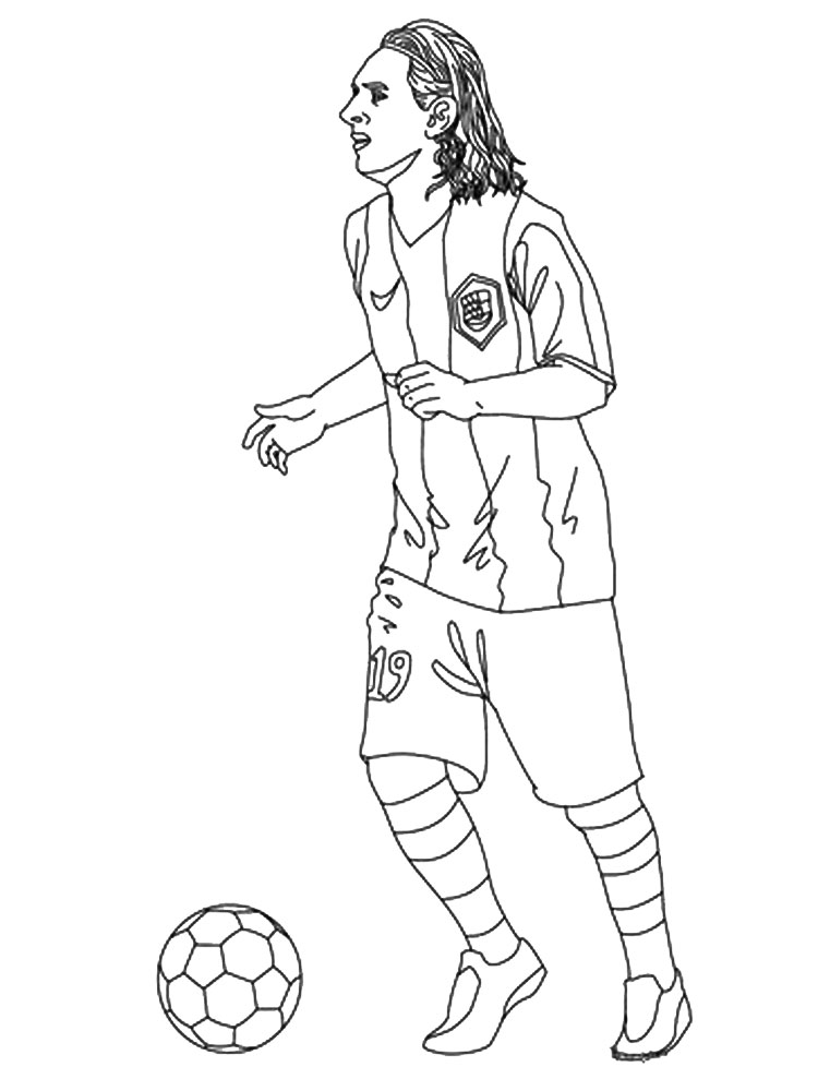 soccer player colouring pages printable soccer player coloring pages realistic soccer player pages colouring
