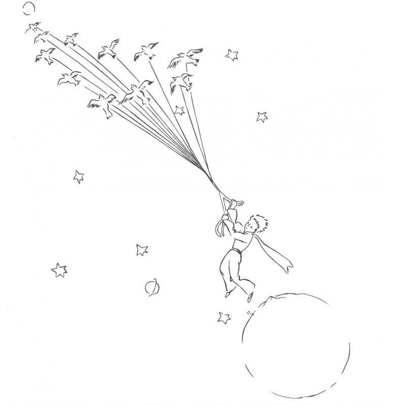 the little prince coloring pages the little prince visits the geographer coloring page the prince pages little coloring
