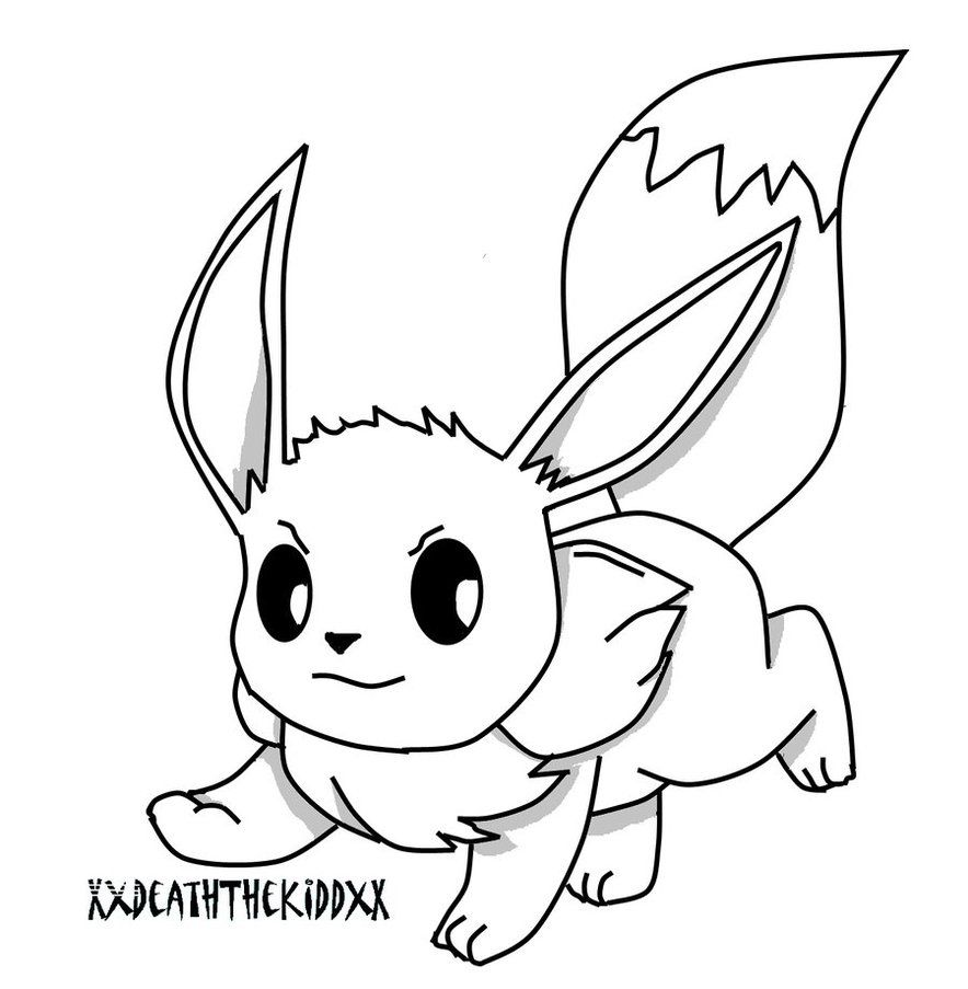 eevee coloring sheets eevee coloring pages to download and print for free sheets coloring eevee
