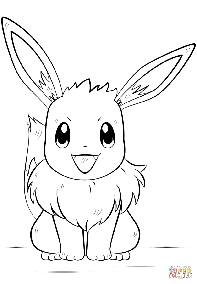 eevee coloring sheets pokemon coloring pages eevee evolutions coloring home coloring eevee sheets