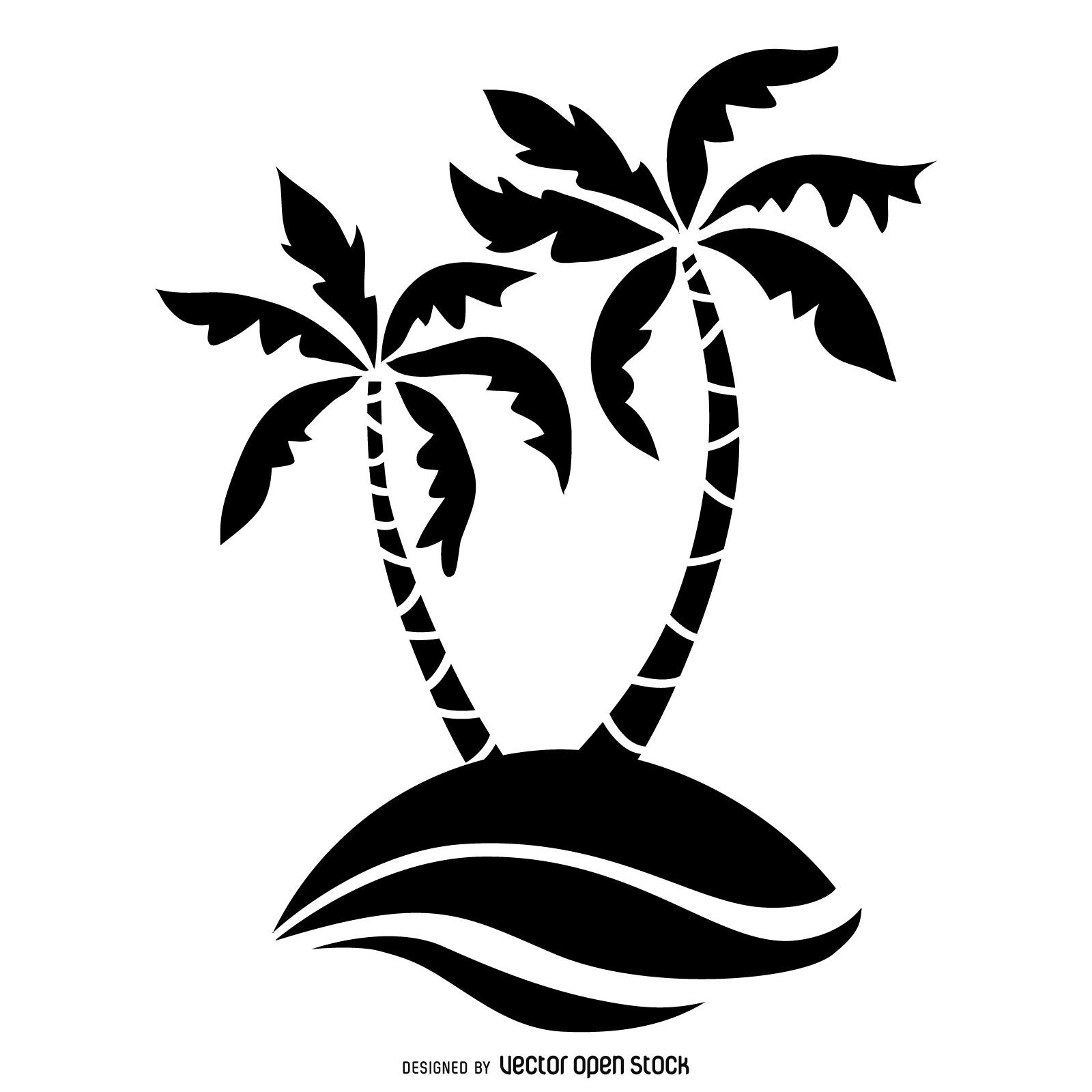 palm tree outline palm tree outline clipart best outline tree palm