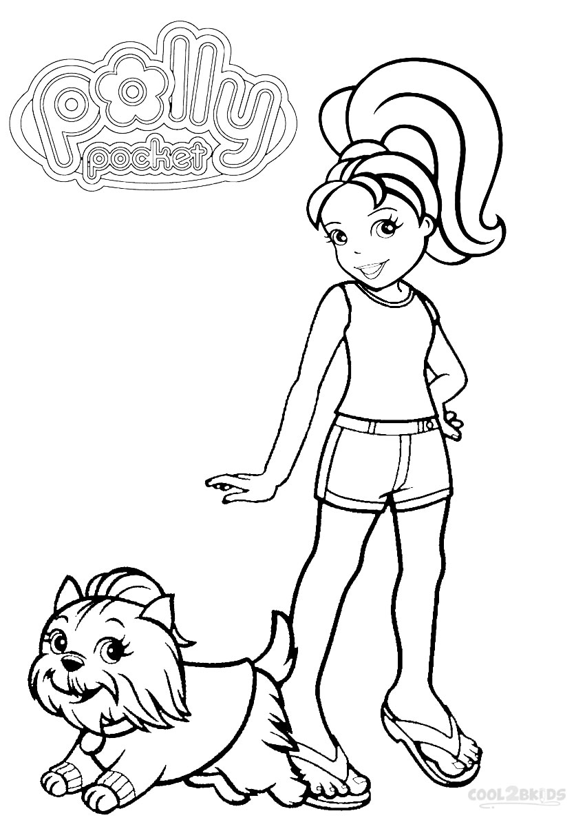 polly pocket coloring printable polly pocket coloring pages for kids cool2bkids pocket polly coloring 1 1