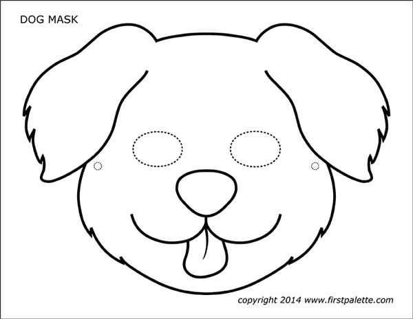 puppy mask coloring page coloring pages coloring dog mask puppy mask coloring page