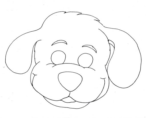 puppy mask coloring page craftsactvities and worksheets for preschooltoddler and mask puppy page coloring