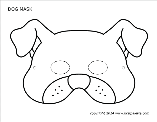 puppy mask coloring page dog face mask templates dog mask puppy coloring pages mask puppy page coloring