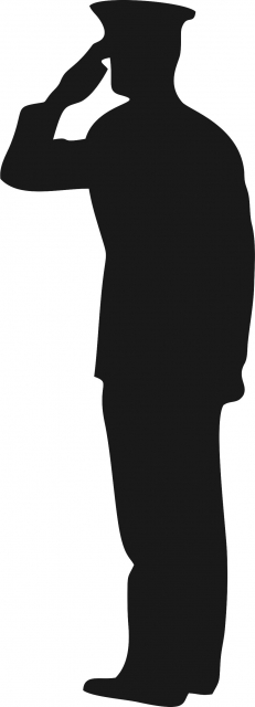 soldier salute silhouette british army soldier saluting mod 45154893jpg clipart salute soldier silhouette