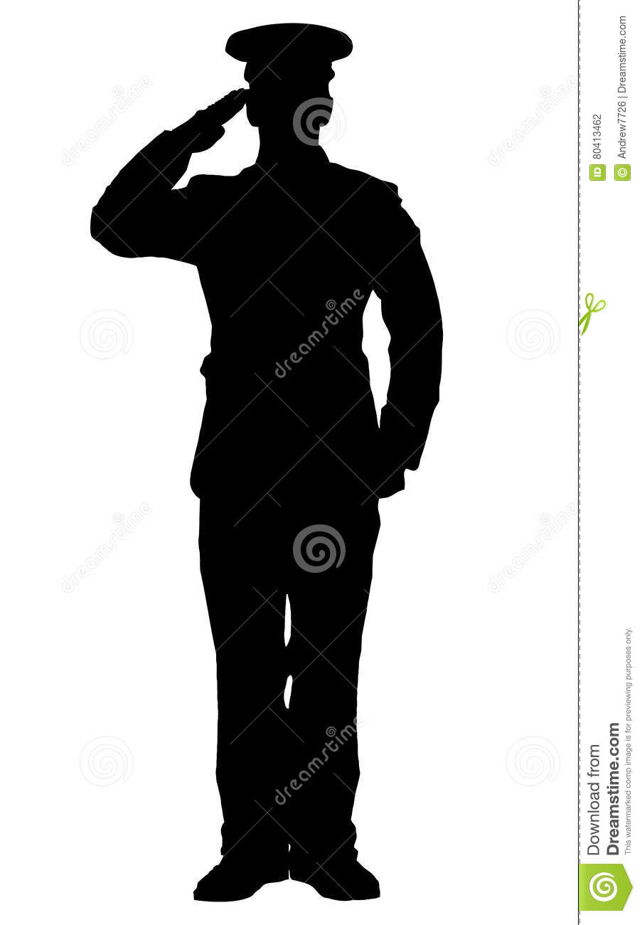 soldier salute silhouette military clip art vector images illustrations istock silhouette soldier salute