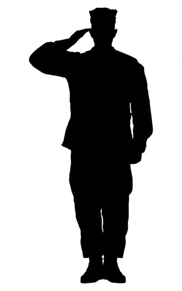 soldier salute silhouette saluting soldier silhouette on white background isolated soldier salute silhouette