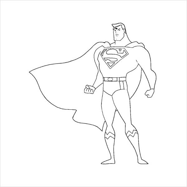 superman cartoon coloring pages download superman coloring pages free printable or print cartoon pages coloring superman