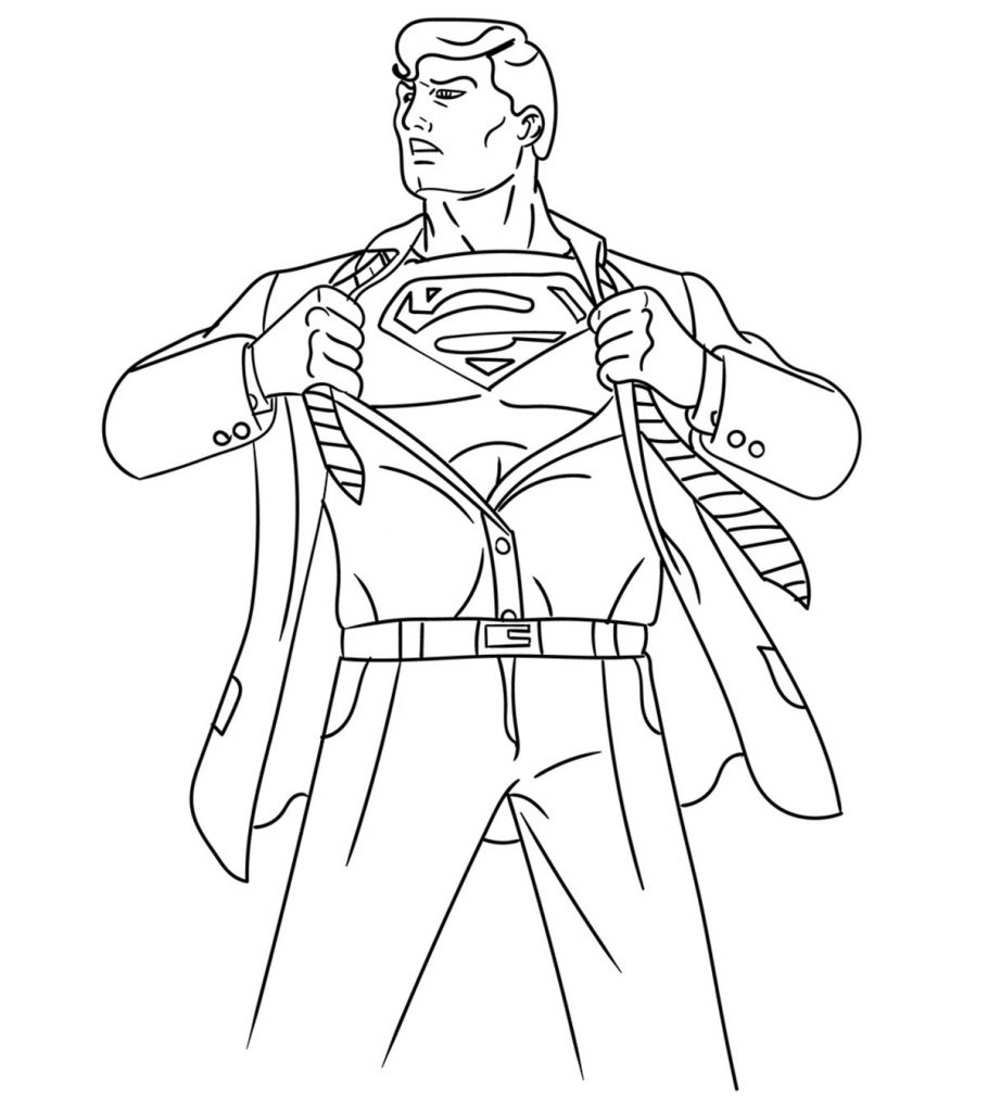 superman cartoon coloring pages superman coloring pages to download and print for free pages superman cartoon coloring
