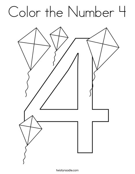 4 coloring sheet number 4 coloring sheets png black and white free number 4 sheet coloring