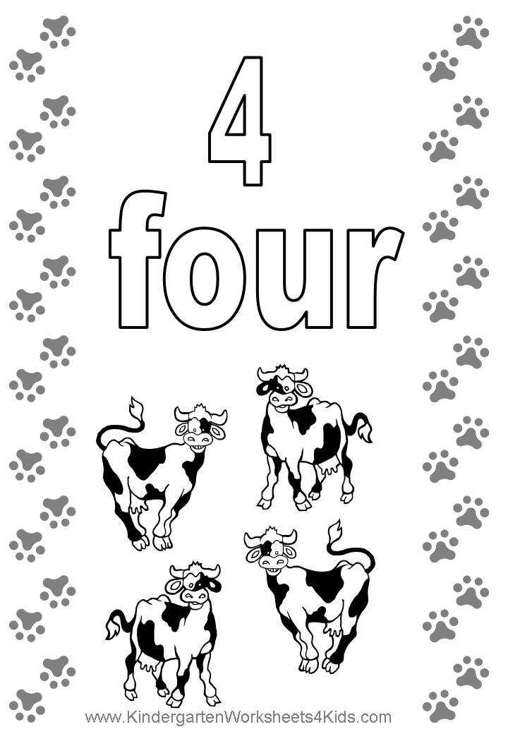 4 coloring sheet pattern number 4 coloring pages for kids counting numbers coloring 4 sheet