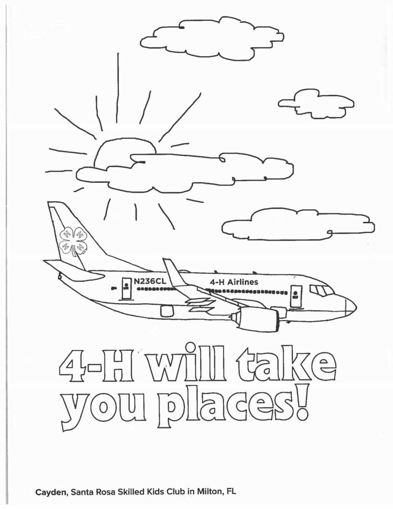 4 h coloring sheets 4 h cloverbud coloring pages coloring pages 4 h sheets coloring
