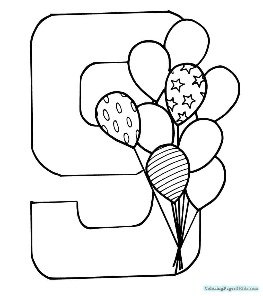 9 coloring sheet number 9 coloring page coloring home 9 sheet coloring