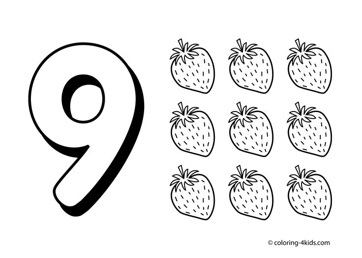 9 coloring sheet number printable preschool coloring pages 9 coloring sheet
